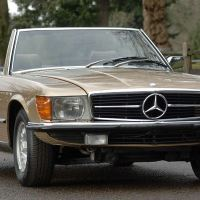 Golden star: 1980 Mercedes-Benz 350 SL