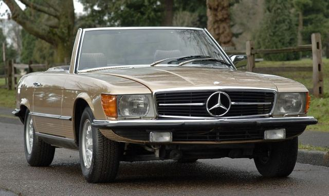 golden star 1980 mercedes benz 350 sl classic virus. Black Bedroom Furniture Sets. Home Design Ideas