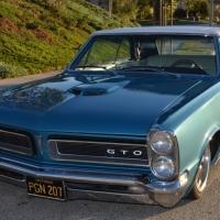 Black plate lowrider: 1965 Pontiac GTO Convertible