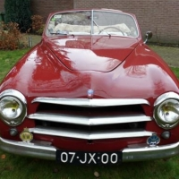 Farina outside: 1950 Simca 8 Sport Cabriolet