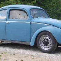 Faded: 1951 Volkswagen Bug