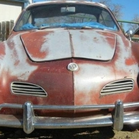 Mountain patina: 1960 VW Karmann Ghia Coupè