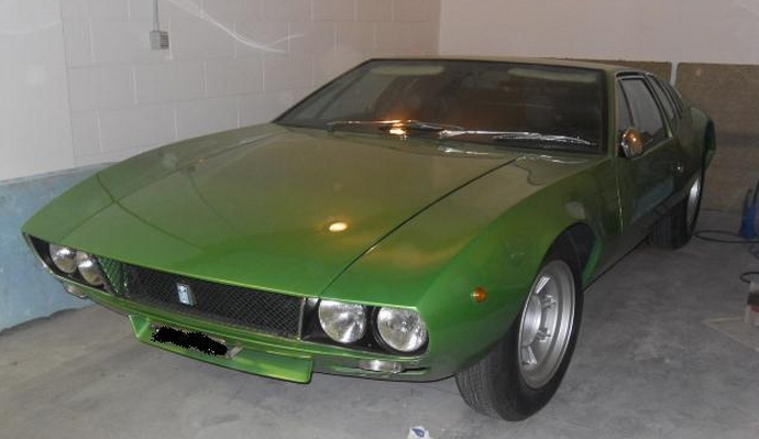 8 600 miles from new one owner 1972 de tomaso mangusta classic virus. Black Bedroom Furniture Sets. Home Design Ideas