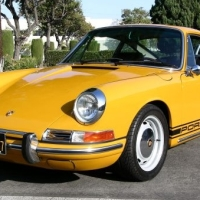 Matching plates: 1968 Porsche 912