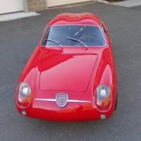 The talented Mr. Rapley: 1959 Abarth 750 Double Bubble by Zagato