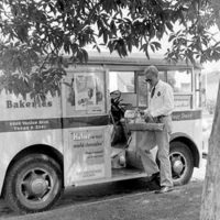 Just baked: 1948 Helm's Bakery Truck by Divco