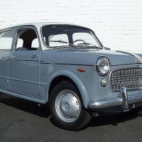 Rare in the U.S.A: 1960 Fiat 1100H Familiare