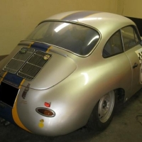 Striped Karmann: 1963 Porsche 356 SC