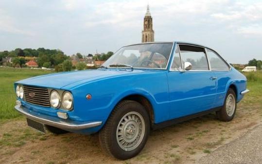 Late Job: 1971 Fiat 124 S Coupé By Vignale