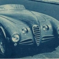 Mother, where are thou? 1951 Alfa Romeo 412 by Vignale