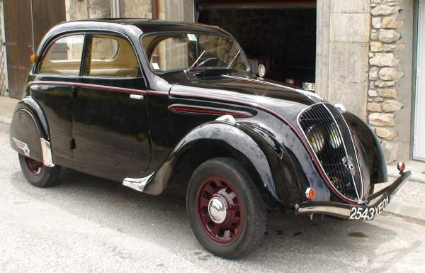 not for africa: 1939 peugeot 202 | classic virus
