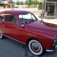 The 2nd one: 1954 Moretti 750 Alger-Le Cap