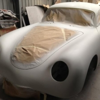 "Japanese flat-four: 1961 Porsche 356 ""Outlaw"""