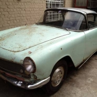 Colonial relic: 1961 Simca Aronde Plein Ciel by Facel