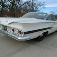 Still wrapped: 1960 Chevrolet Impala 2 doors