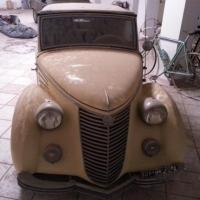 Transformed Topolino: 1939 Siata Amica Trasformabile