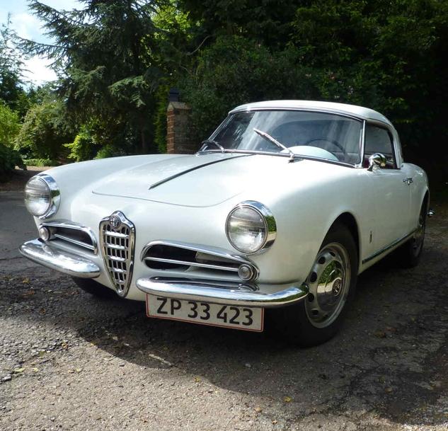 La Dolce Vita: 1959 Alfa Romeo Giulietta Spider Veloce