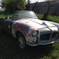 Some paint needed: 1959 Fiat 1200 TV Trasformabile