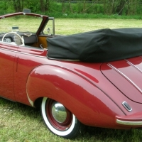 Those sweet eyes: 1953 DKW F91 Sonderklasse Cabriolet