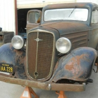 Made in Oakland: 1934 Chevrolet 3 Window