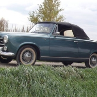 Enter the third: 1960 Peugeot 403 Cabriolet by Pininfarina