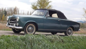 seller submission: 1959 peugeot 403 cabriolet grand luxe