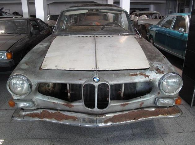 Not the usual project: 1963 BMW 3200 CS by Bertone | Classic Virus