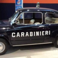 "Beyond coolness: 1966 Fiat 600 ""Carabinieri"""