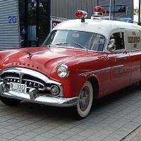 Success assured: 1951 Packard 200 Fire Dept. Ambulance by Henney