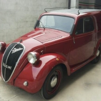 "Don't drink and drive: 1940 Fiat 500A Furgoncino ""Campari"""