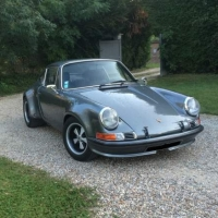 "Larger than life: 1971 Porsche 911 ""2.5 ST evocation"""