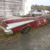 New York rust: 1957 Chevrolet Bel Air Convertible