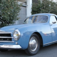Attitude for elegance: 1951 Simca Sport 8 by Facel