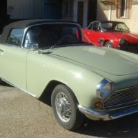 Chasing the sun: 1959 Simca Aronde Sport Océane by Facel