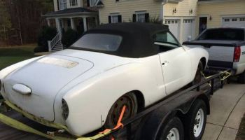 Puppies Not Included 1963 Vw Karmann Ghia Convertible Classic Virus