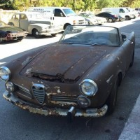 Rust to sell: 1966 Alfa Romeo 2600 Spider by Touring