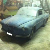 No excuses: 1955 Autobleu 4CV Coupé by Ghia