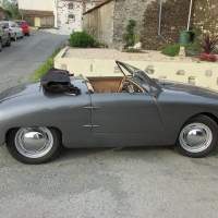 Optional trunk: 1953 Panhard Dyna X87 Junior Roadster