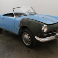 Open air cams: 1958 Alfa Romeo Giulietta Spider