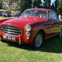 Red and light: 1954 Fiat 1100 TV by Ghia