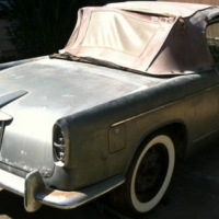 Two shades of grey: 1960 Lancia Appia Convertibile by Vignale