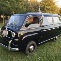 Bare minimum: 1957 Fiat Multipla Hearse by Allemano