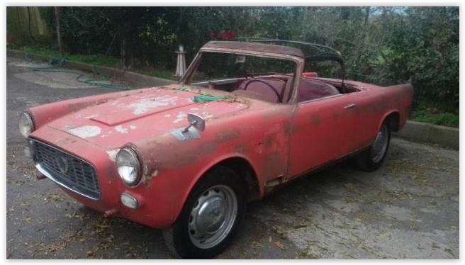 Early Car 1959 Lancia Appia Convertibile By Vignale Classic Virus