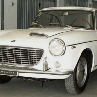 Hybrid body: 1962 Fiat 1600S Coupé by Pininfarina