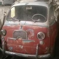 Two tone sleeper: 1959 Fiat 600 Multipla