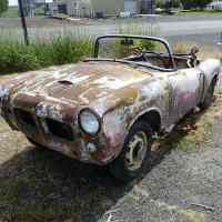 No keys, no spares, no title: 1959 Fiat 1200 TV Spider