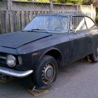 Welder needed: 1968 Alfa Romeo GT Junior