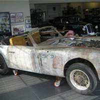 Needs love: 1947 Cisitalia 202 Cabriolet