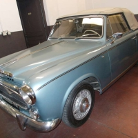 Blue patina: 1960 Peugeot 403 Cabriolet by Pininfarina
