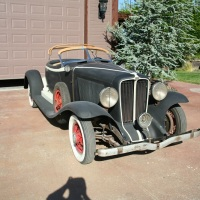 "Half car: 1931 Auburn 8-98 ""Boat Tail Speedster"""